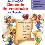 Elemente e vocabular cu personaje Disney Clopotica