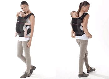 Marsupiu Portbebe BabyMoov - Port bebelus anatomic pentru pozitie corecta
