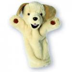 Papusi de mana - Marionete pentru copii cu animale catel labrador