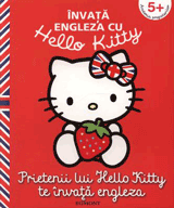 Carte de engleza copii 5 ani: Prietenii lui Hello Kitty te invata engleza