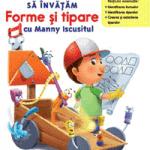 Disney School Skills carti si manuale matematica copii 4 ani gradinita: Manny Iscusitul