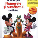 Disney School Skills carti si manuale matematica copii 4 ani gradinita: Mickey Mouse