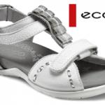Sandale fetite ECCO din piele naturala