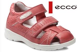 Confecţionate din materiale uşoare, prevăzute cu branţ confortabil din piele, sandalele pentru fetite ECCO Hide and Seek sunt ideale pentru mersul pe jos, in cea mai solicitanta perioada de crestere a copilului.