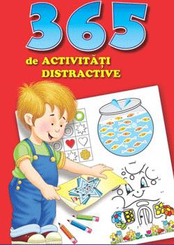 365 de activitati distractive pentru copii cu varsta intre 4 si 7 ani, 374 de pagini intr-o carte brosata aparuta la Editura Litera.