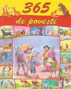 Cartea 365 de povesti contine cate o poveste magica pentru fiecare zi a anului, cu zane frumoase, spiridusi pusi pe sotii, iepuri intelepti, zmei inflacarati si printi fermecati.