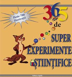 365 de super experimente stiintifice poate fi un material suplimentar pentru programele scolare deoarece include informatii stiintifice si incurajeaza adunarea dovezilor si evaluarea rezultatelor.