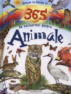 Carte cu animale si 365 de curiozitati despre acestea in 197 de pagini cu coperta cartonata.