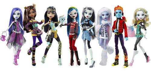 Intra in lumea Monster High, unde invata copiii adolescenti ai monstrilor legendari. Papusile Monster High sunt la concurenta cu papusile Barbie. De unde cumperi papusi Mattel cu personaje din Monster High - Liceul monstrilor?