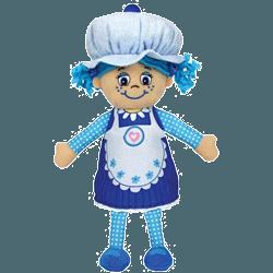 Papusa parfumata sub forma de Briosa Miss Muffin BlueBerry
