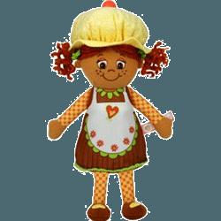 Papusa parfumata sub forma de Briosa Miss Muffin Chip