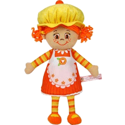 Papusa parfumata sub forma de briosa Miss Muffin Pumpkin