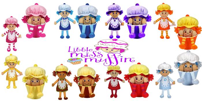 Papusi Little Miss Muffin – Papusi parfumate sub forma de briose