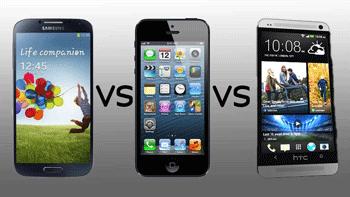 Puterea de calcul, procesorul mai exact al lui HTC One este cel mai performant, ruland la o viteza de 1,7 ghz castigand lupta cu cei 1,5 ai lui Galaxy S4 sau 1,2 ai lui iPhone5.