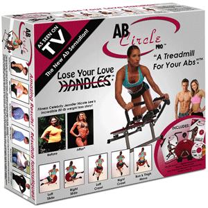 Aparatul Fitness AB Circle Pro este usor de pliat, pentru a fi depozitat usor si ergonomic dupa terminarea exercitiilor.