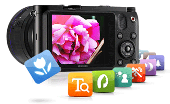 Conexiunea Wi-Fi incorporata a camerei foto Mirrorless Samsung NX1000 va permite sa partajati / transmiteti instantaneu momentele speciale cu prietenii si cu familia, chiar si cand sunteti in miscare. Incarcati fotografii si filme direct din camera video pe Facebook, Picasa, Photobucket, Youtube si Twitter sau trimiteti-le prin e-mail direct din camera foto NX1000 catre persoanele dragi.
