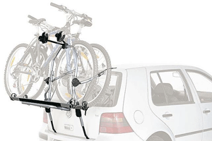 Suportul de bicicleta Thule ClipOn High 9106, este un suport de bicicleta care se monteaza foarte usor pe usa din spate a masinii