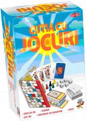 colecţie fantastică de jocuri pentru toată familia! Include: jocul pe tablă Sus-Jos, jocul cu zaruri Yatzy, cărţi de joc, Sudoku pe trei nivele de dicultate şi un joc de petrecere inedit si distractiv