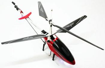 Elicopter Double Horse 9115 2,4 GHz cu camera video, controlabil din telecomanda, cu 4 canale si dimensiunea de 84 cm.