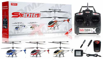 Mini Elicopterul cu infrarosu S109G de la SYMA