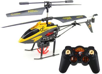 Clasicul elicopter pe 3 canale cu giroscop vine acum echipat si cu carlig retractabil si cosuletul aferent.