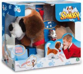 Catelusul Samby este jucaria interactiva cu splendidul Saint Bernard ce se comporta ca un caine adevarat. Este un adevarat prieten fidel si inteligent! O jucarie adorabila de la Giochi Preziosi pe care copiii pur si simplu O IUBESC!