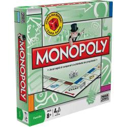 Monopoly, cel mai faimos joc de tranzacţii imobiliare, în varianta standard, cu străzile din Bucureşti.