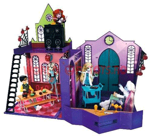Set joaca: Liceul papusilor Monster High