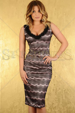 Gina Pistol iti prezinta rochia LaDonna Noble Moments clasica si eleganta, iti va oferi un look unic.