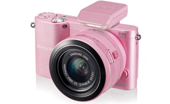Camera foto Samsung NX1000 este disponibila in culorile alb, negru si roz pentru a se adapta preferintelor tale.