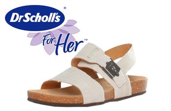 Sandalele Dr Scholl Ruk sunt sandale de vara confectionate din piele naturala si panza si au branturi si talpa de cauciuc. Sunt deosebit de comode si simple, se asorteaza la o tinuta casual de vara.