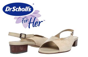 Sandalele Dr. Scholl din piele naturala sunt deosebit de comode, simple si in acelasi timp elegante, se pot purta la tinute casual sau elegante de vara.