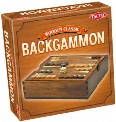 Setul de table contine: 1 tabla de joc, 30 de piese de joc din lemn (15 albe si 15 negre), 2 zaruri si 1 zar special