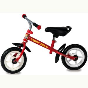 Bicicleta fara pedale Tiger Bike Red este un vehicul pentru copii a carei actionare se face cu ajutorul picioarelor, fiind o bicicleta pentru incepatori.