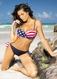 Costum de baie Steagul Americii