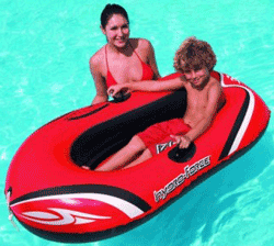 Barca gonflabila Hydro Force pentru copii.