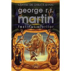 Al patrulea volum din saga Cantec de gheata si foc de George R.R. Martin, Festinul ciorilor