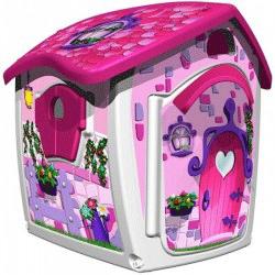 Jucaria de exterior: Casuta pentru printese de la Injusa poate deveni locul de joaca preferat pentru fetita ta, casuta fiind in continuă schimbare. Casa este simplu de asamblat, putand fi folosita atat in exterior cat si în casă.