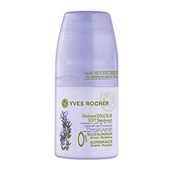 Deodorant roll-on fara parabeni Yves Rocher Lavandă din Provence