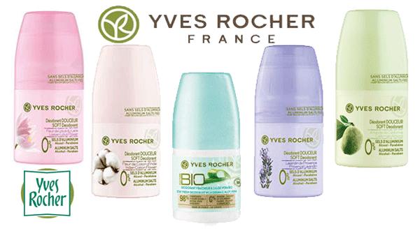 Deodorante Antiperspirante Yves Rocher Le Jardin du Monde fara parabeni