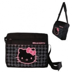 Gentuta laptop neagra Hello Kitty