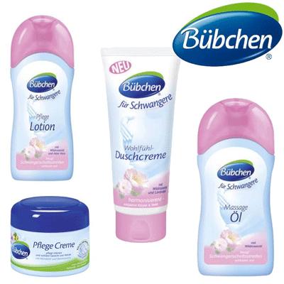 Bubchen, gel de dus, lotiune si ulei de corp pentru mamici fara parabeni