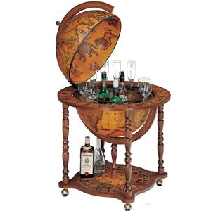 Glob cu cabinet intern pentru bauturi. Cadouri business