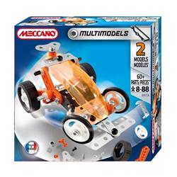Set de constructie Meccano cu piese din plastic si metal