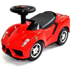 Masinuta fara pedale Ferrari rosu pentru copii 1-3 ani