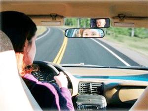 Oglinda auto retrovizoare pentru scaunele din spate