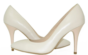 Pantofi Stiletto din piele naturala Vivian