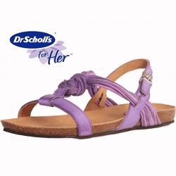 Sandale dama violet Dr.Scholl Ceara
