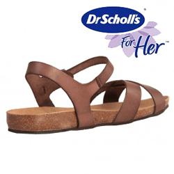 Sandale de dama Dr.Scholl`s maro Benira
