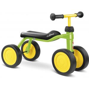 Tricicleta fara pedale cu 4 roti va fi vehiculul ce ii va consuma energia intr-un mod distractiv copilului tau, inca de cand incepe sa faca primii pasi.